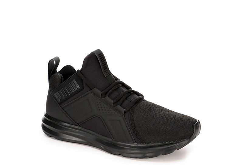Puma Womens Enzo Sneaker - Black 2fa261416