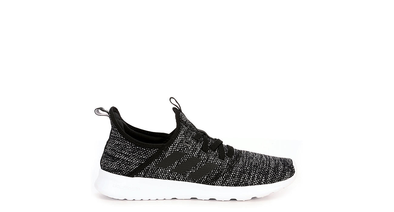 best cheap 8d3cb 44cfd Adidas Womens Cloudfoam Pure Sneaker - Black