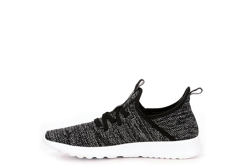 ADIDAS Womens Cloudfoam Pure Sneaker - BLACK