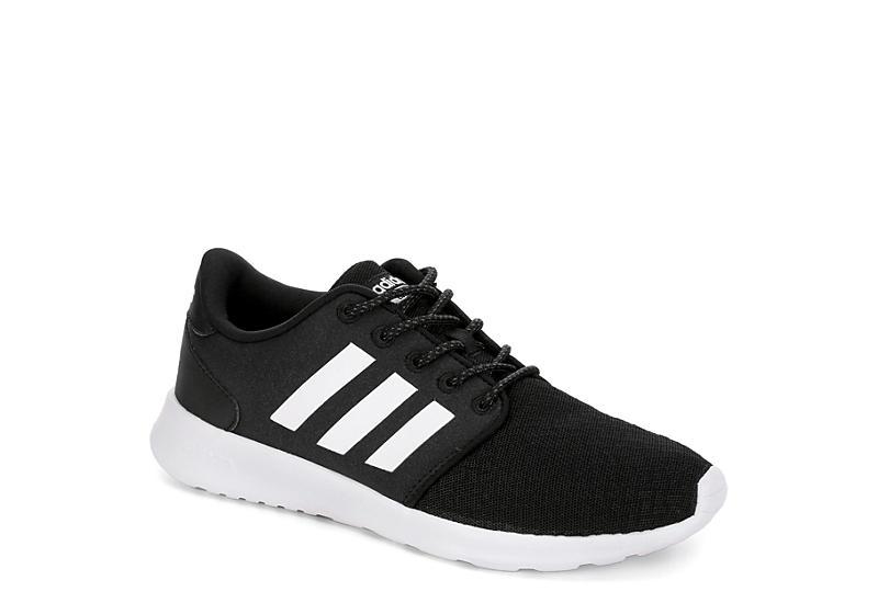 ADIDAS Womens Qt Racer Sneaker - BLACK