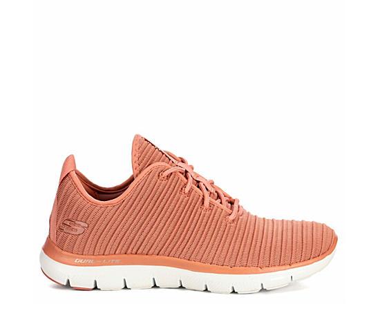 Womens Flex Appeal Ribbed Sneaker