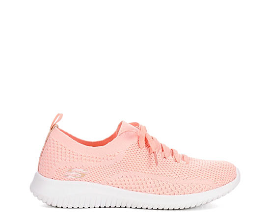 Womens Ultra Flex Mesh Sneaker