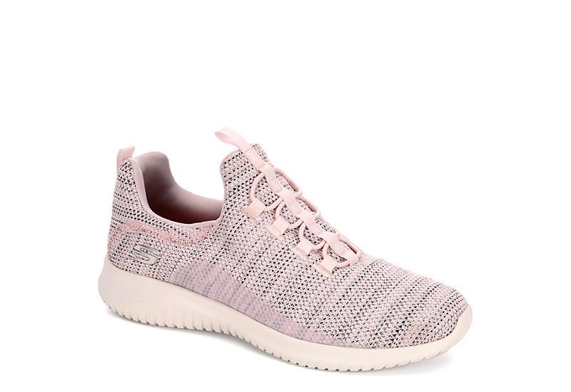 a3aead0fd2c2 Skechers Womens Ultra Flex Capsule Sneaker - Blush