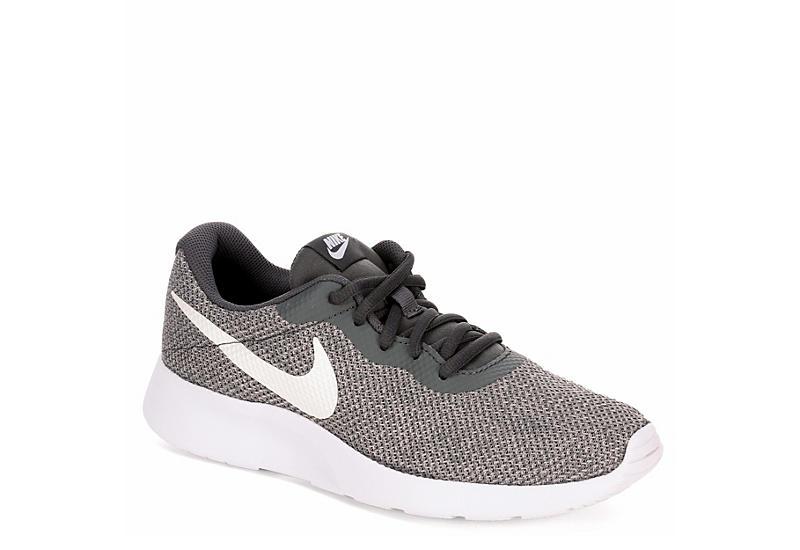 7bbb4aeb96d Nike Womens Tanjun Premium Sneaker - Dark Grey