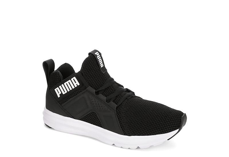10c47acb75fd Puma Womens Enzo Mid Sneaker - Black