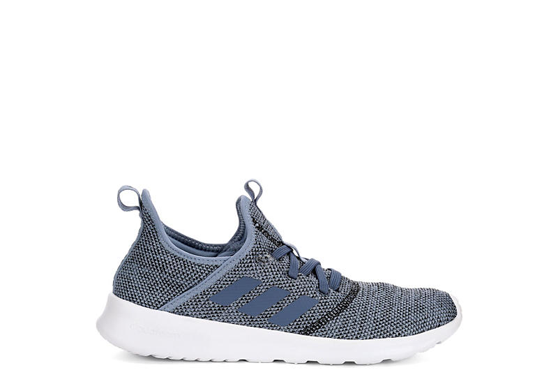 ADIDAS Womens Cloudfoam Pure Sneaker - BLUE