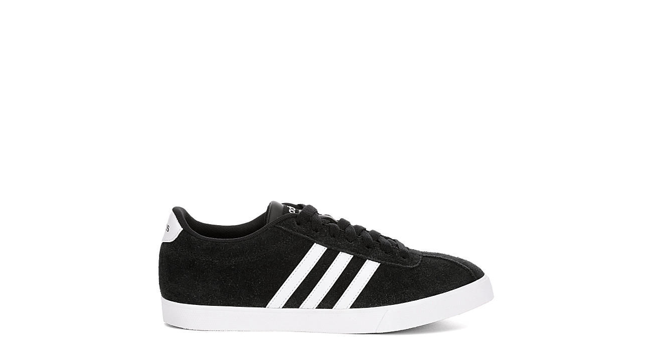online store a32f4 43392 Adidas Womens Courtset Sneaker - Black