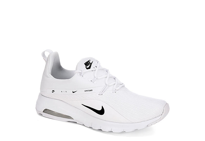 White Nike Air Max Motion Racer 2 Women s Sneakers  7ee59a9f9