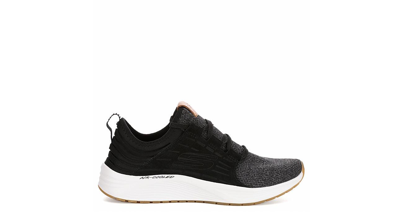 SKECHERS Womens Skyline Sneaker - BLACK