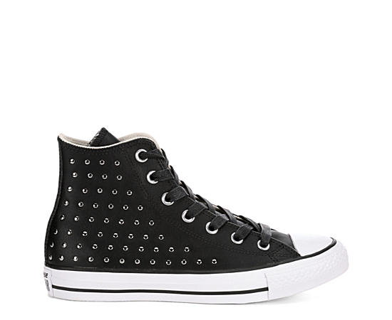 Womens Chuck Taylor All Star High Top Leather Sneaker