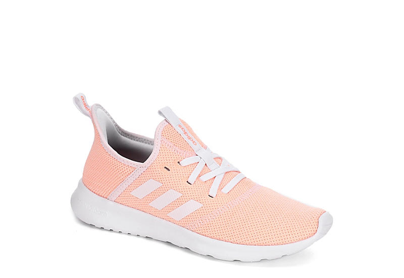 d7046ac435c Coral adidas Cloudfoam Pure Women s Sneakers
