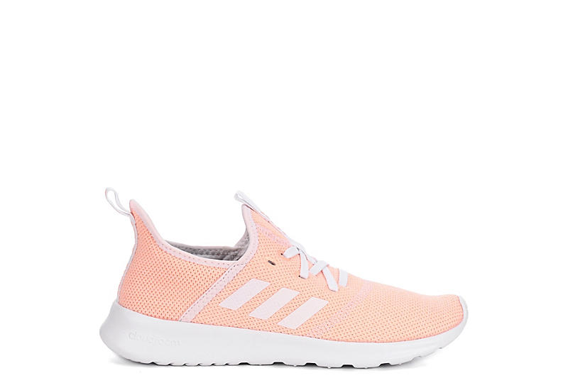 6aba22189808 Coral adidas Cloudfoam Pure Women s Sneakers