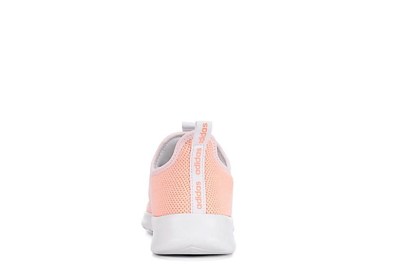 ADIDAS Womens Cloudfoam Pure Sneaker - CORAL