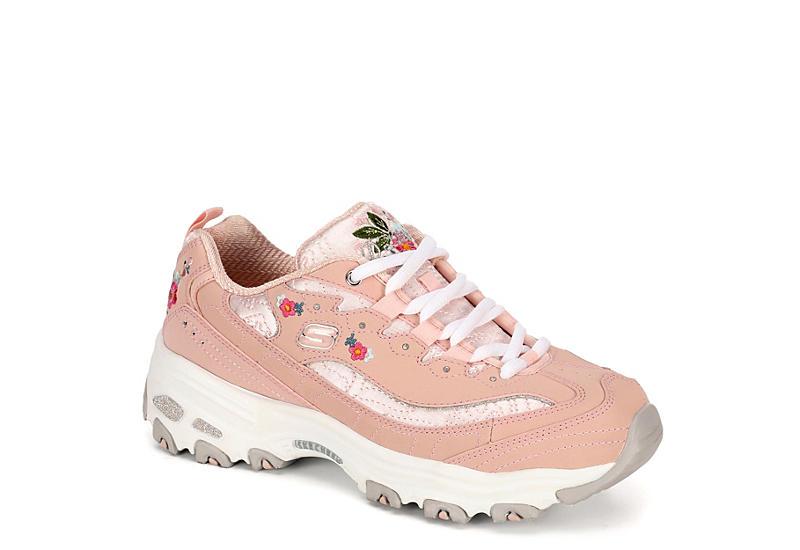 df72e2ee9c4f Blush Skechers Womens Dlites Sneaker