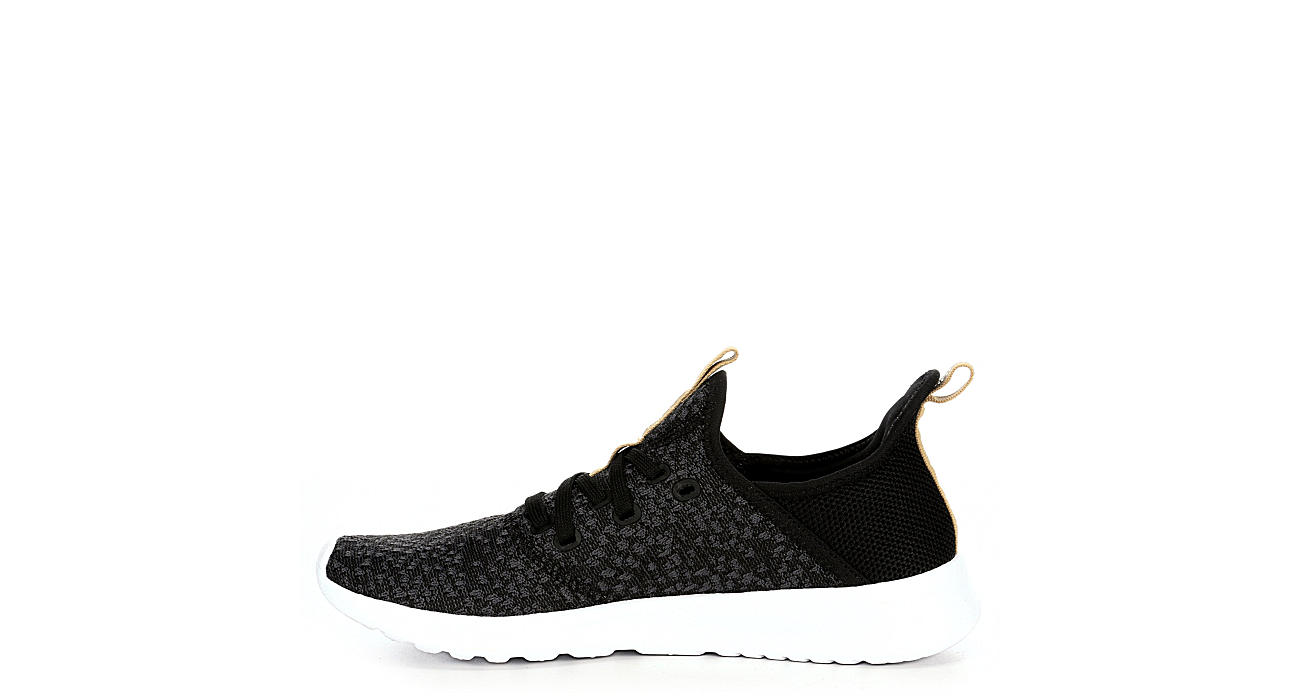ADIDAS Womens Cloudfoam Pure Sneaker - BLACK