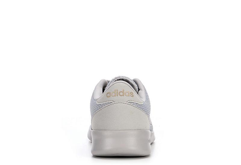 ADIDAS Womens Qt Racer Sneaker - GREY