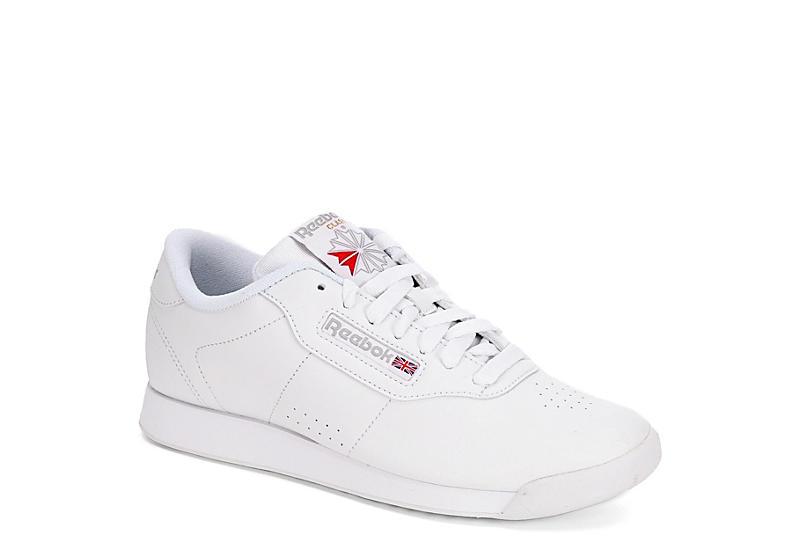 b5ada73ef4ab81 Reebok Womens Princess Sneaker - White