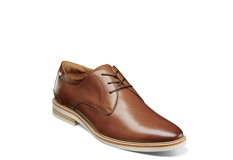 FLORSHEIM Mens Highland Plain Toe Oxford - COGNAC