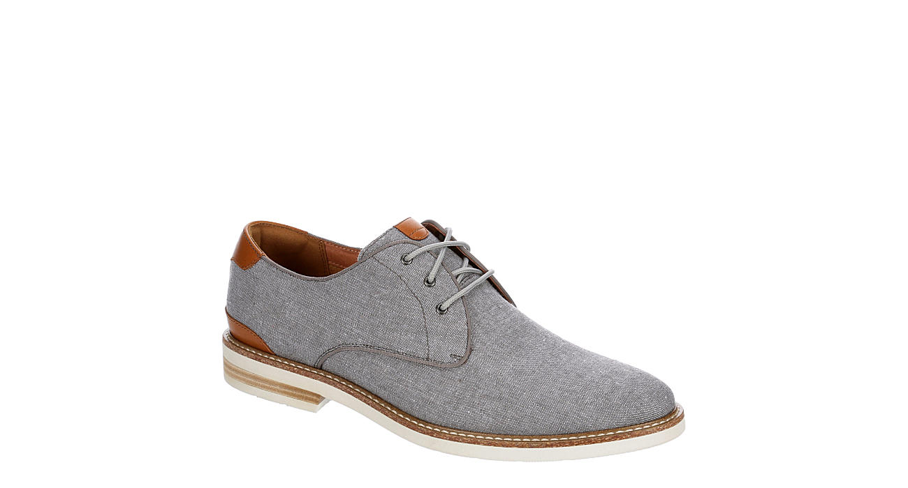 FLORSHEIM Mens Highland Plain Toe Oxford - GREY