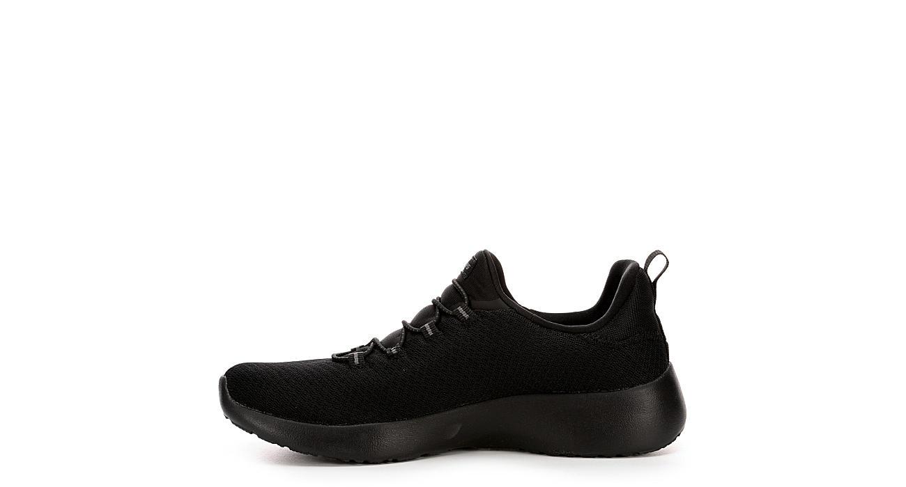 SKECHERS Womens Dynamight - Break-through Sneaker - BLACK
