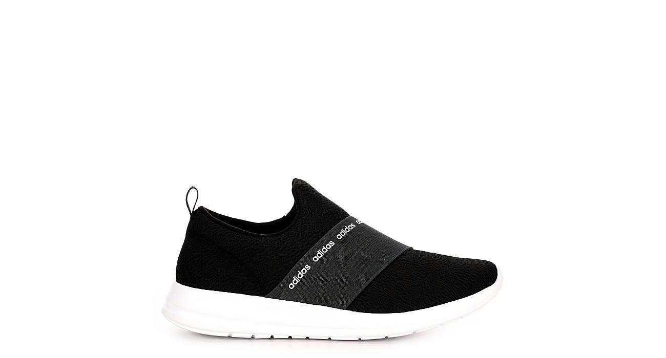 adidas slip on black