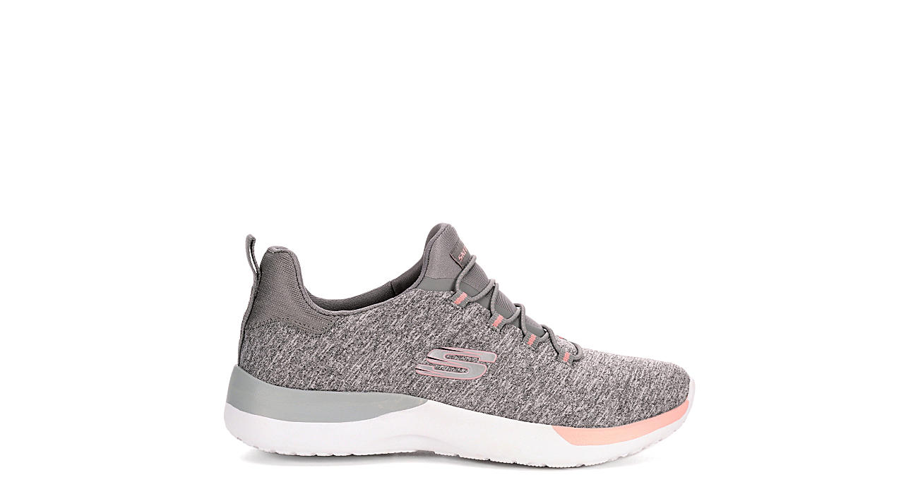 SKECHERS Womens Dynamight - Break-through Sneaker - GREY