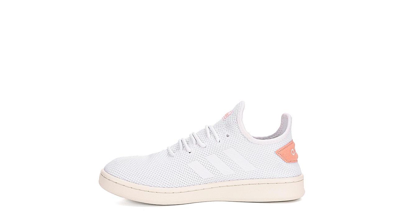 ADIDAS Womens Court Adapt Sneaker - WHITE