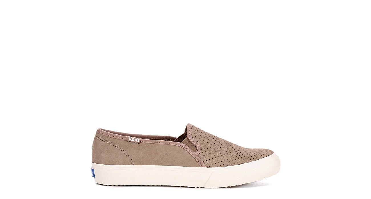 KEDS Womens Double Decker Sneaker - TAUPE