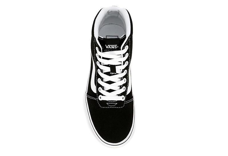 VANS Womens Ward High Top Platform Sneaker - BLACK