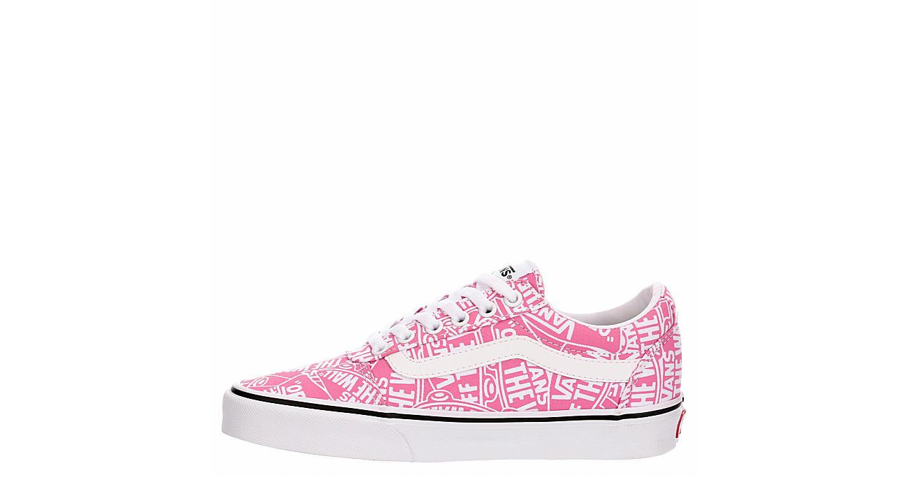 VANS Womens Ward Sneaker - PINK