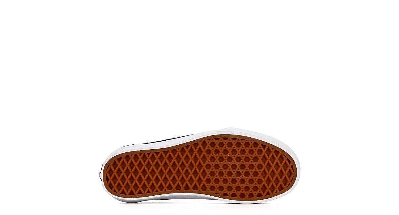 VANS Womens Ward Platform Sneaker - BLACK