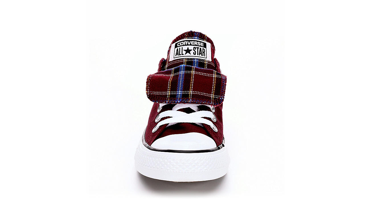 a26523579b02 Burgundy Converse Womens Chuck Taylor All Star Double Tongue Sneaker ...