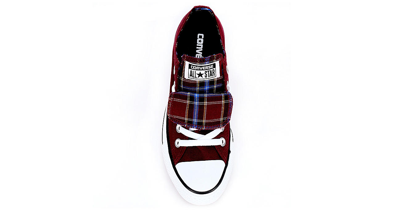 86b6a4906249 Burgundy Converse Womens Chuck Taylor All Star Double Tongue Sneaker ...