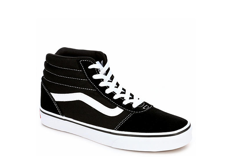Black Vans Womens Ward High Top Sneaker  c7d95e537