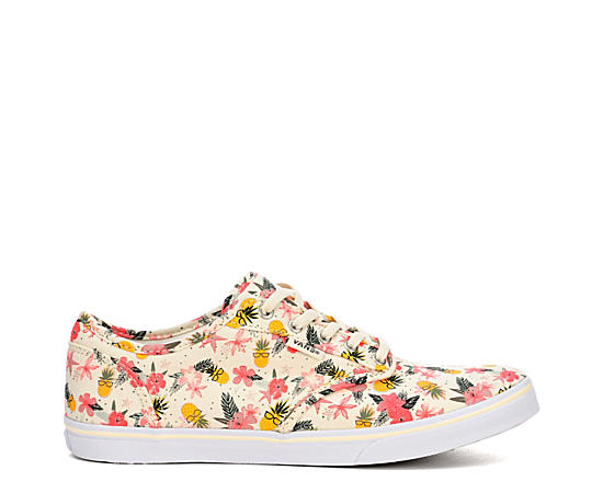 Womens Atwood Low Print Sneaker