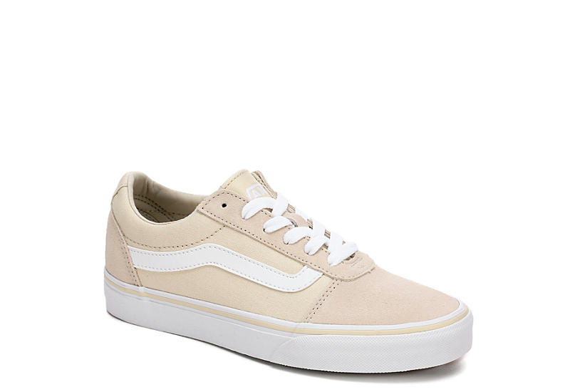 0310e9540f Beige   White Vans Ward Women s Low Top Sneakers