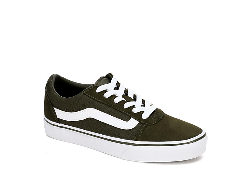 21fb8eecbd Olive Green Vans Ward Women s Low Top Sneakers