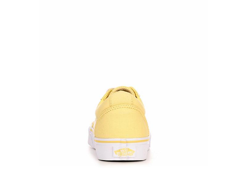 VANS Womens Ward Sneaker - YELLOW