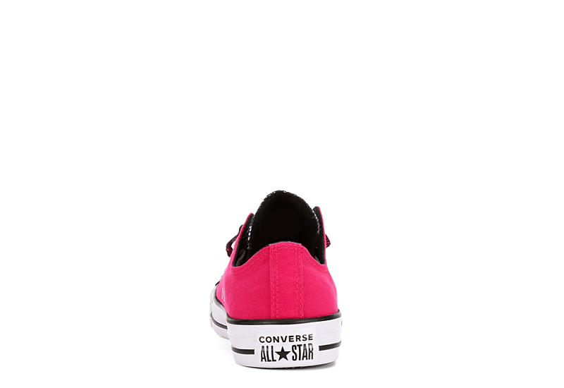 CONVERSE Womens Chuck Taylor All Star Double Tongue Sneaker - PINK