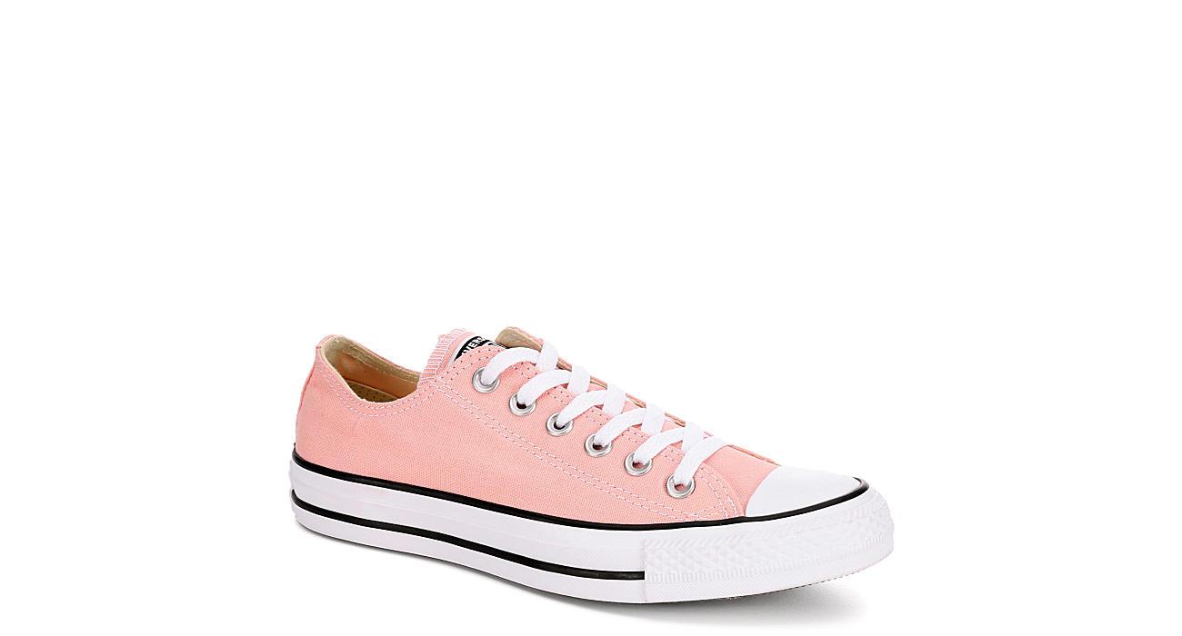 1cb2c04009f Converse Womens Chuck Taylor All Star Low Sneaker - Pink
