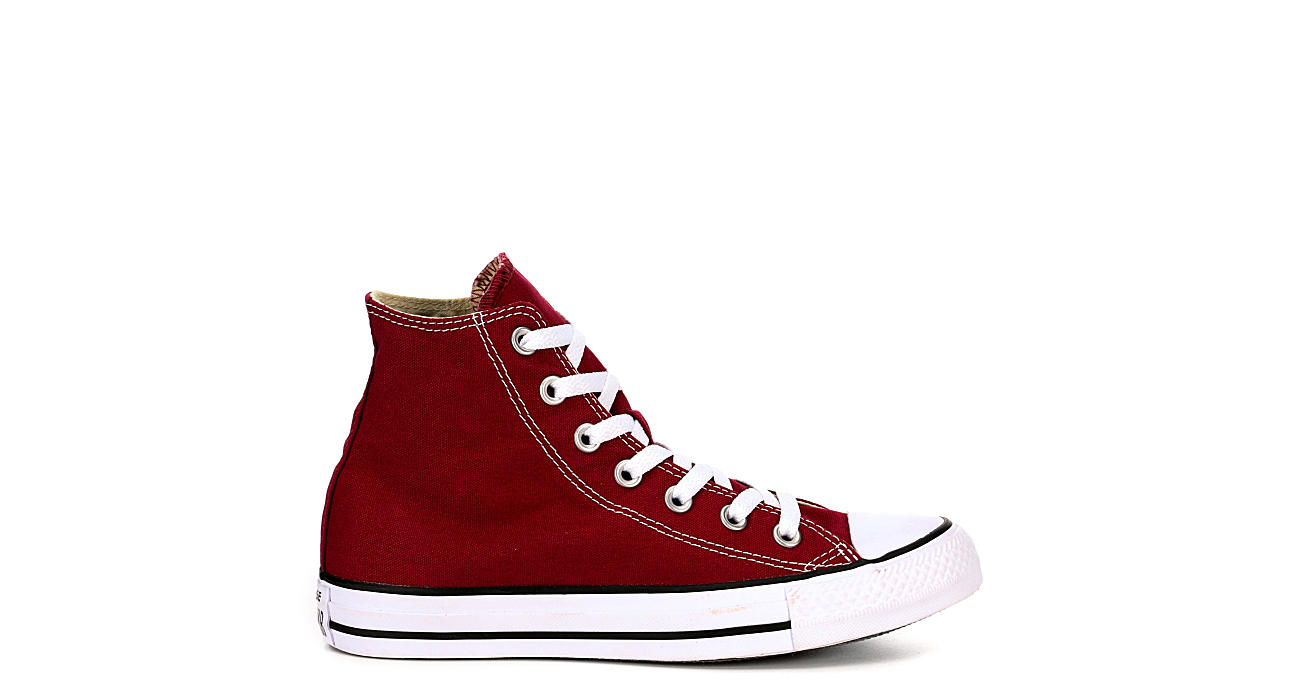 e119af3cf3b9 Burgundy Converse Womens Chuck Taylor All Star High Top Sneaker ...