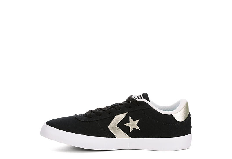 CONVERSE Womens Point Star Sneaker - BLACK