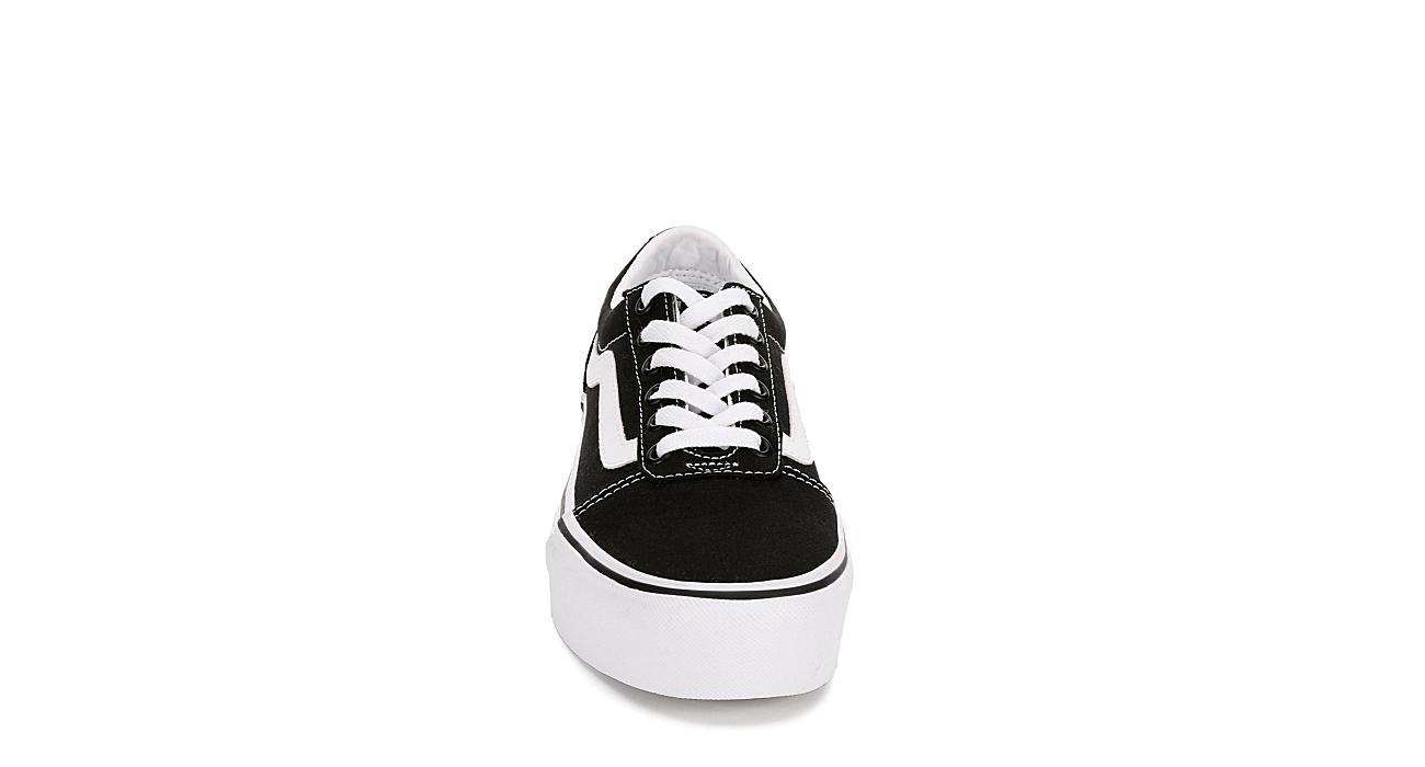 3546877a24 Vans Womens Ward Platform Sneaker - Black