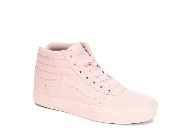 d5035d7278 Blush Vans Ward Women s High Top Sneakers