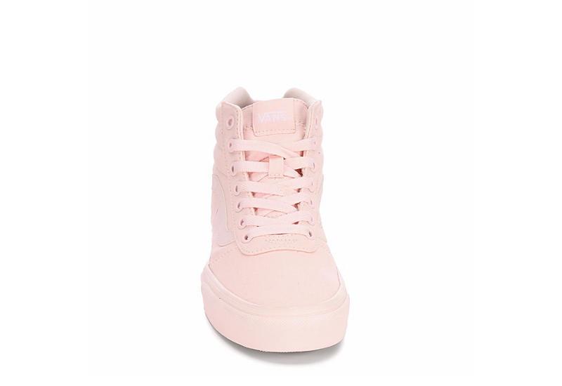Vans Womens Ward High Top Sneaker Blush