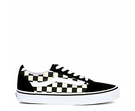Womens Ward Low Checker Sneaker