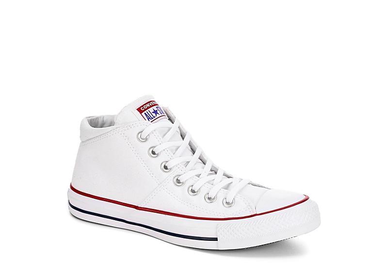 8b5787f7fa70 Converse Womens Madison Mid Top Sneaker - White