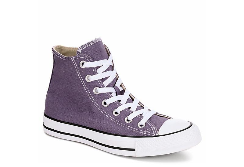 f0a4e05df1bb0a Purple Converse Womens Chuck Taylor All Star High Top Sneaker ...