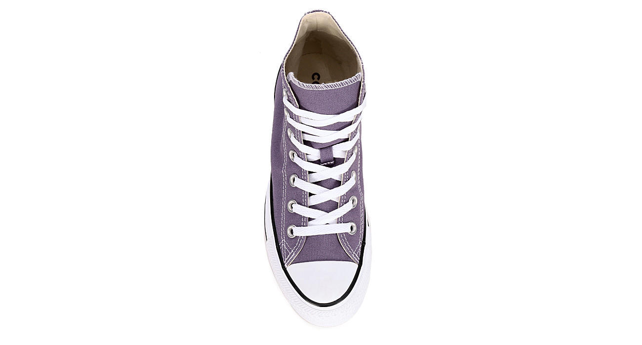 CONVERSE Womens Chuck Taylor All Star High Top Sneaker - PURPLE