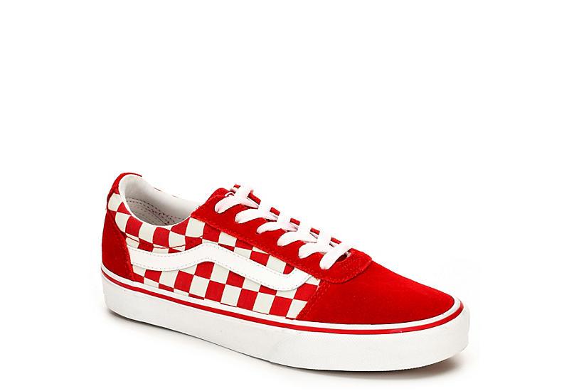 stabilna jakość wylot gorące nowe produkty RED VANS Womens Ward Sneaker